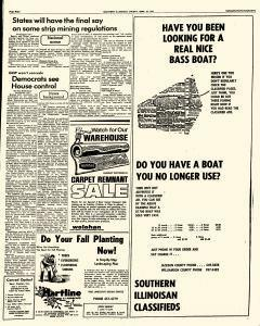 Southern Illinoisan, September 27, 1974, Page 8