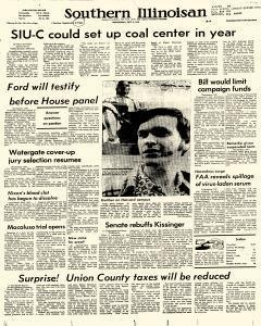 Southern Illinoisan, October 02, 1974, Page 1