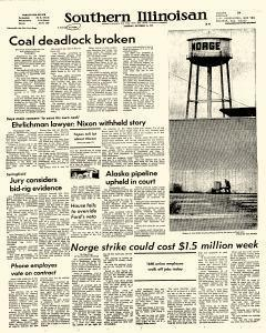 Southern Illinoisan, October 15, 1974, Page 1