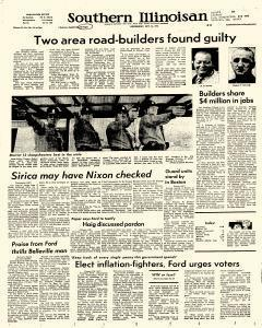 Southern Illinoisan, October 16, 1974, Page 1