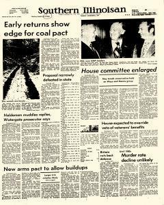 Southern Illinoisan, December 03, 1974, Page 1