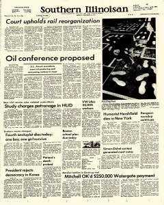 Southern Illinoisan, December 16, 1974, Page 1