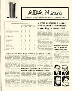ADA News, October 16, 1978, Page 1