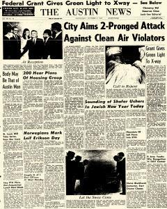 Chicago Austin News, October 04, 1967, Page 1