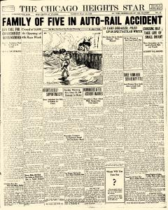 Chicago Heights Star, July 24, 1928, Page 1