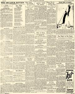 Decatur Review, November 22, 1928, Page 6