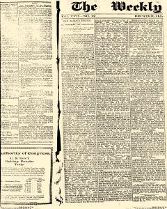 Decatur Weekly Herald Despatch, October 27, 1894, Page 1