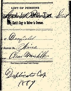 Deerfield Township Clerk Miscellaneous Files, January 01, 1886, Page 5