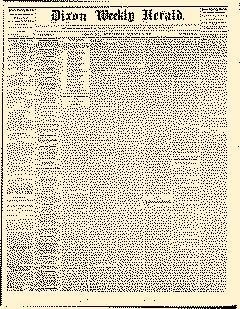 Dixon Weekly Herald, August 05, 1868, Page 1