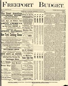 Freeport Budget, July 09, 1881, Page 1