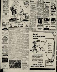Harrisburg Daily Register, August 24, 1951, Page 4