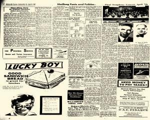 Jacksonville Daily Journal, April 05, 1965, Page 4