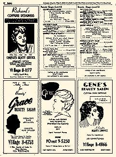 Oak Park Telephone Directory, May 01, 1956, Page 184