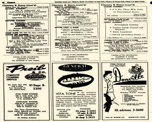 Oak Park Telephone Directory, May 01, 1956, Page 204