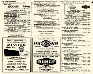 Oak Park Telephone Directory, May 01, 1956, Page 208