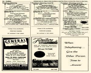 Oak Park Telephone Directory, May 01, 1956, Page 256