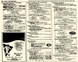 Oak Park Telephone Directory, May 01, 1956, Page 300