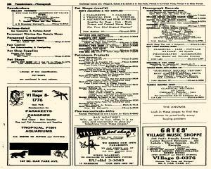 Oak Park Telephone Directory, May 01, 1956, Page 330