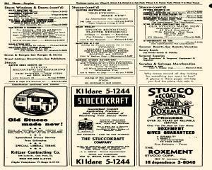 Oak Park Telephone Directory, May 01, 1956, Page 386