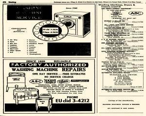 Oak Park Telephone Directory, May 01, 1956, Page 420