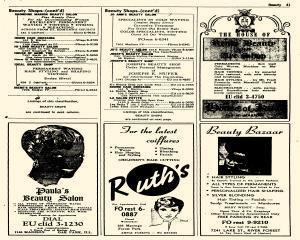 Oak Park Telephone Directory, May 01, 1956, Page 183