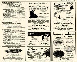 Oak Park Telephone Directory, May 01, 1956, Page 217