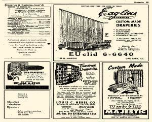 Oak Park Telephone Directory, May 01, 1956, Page 225