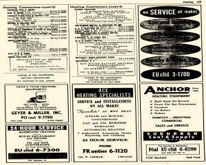 Oak Park Telephone Directory, May 01, 1956, Page 271