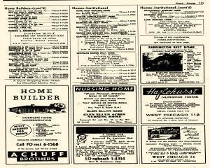 Oak Park Telephone Directory, May 01, 1956, Page 273