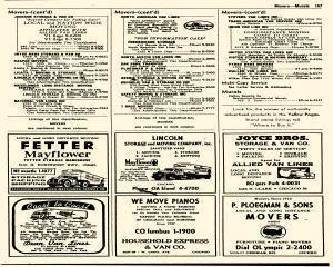 Oak Park Telephone Directory, May 01, 1956, Page 309