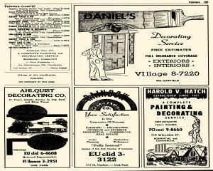 Oak Park Telephone Directory, May 01, 1956, Page 327