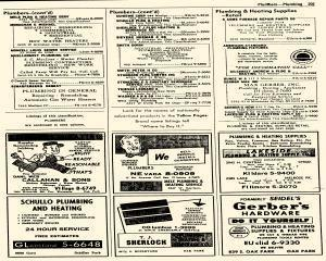 Oak Park Telephone Directory, May 01, 1956, Page 343