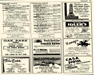 Oak Park Telephone Directory, May 01, 1956, Page 357