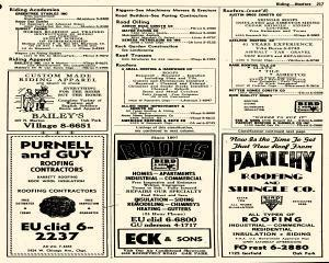 Oak Park Telephone Directory, May 01, 1956, Page 359