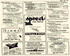 Oak Park Telephone Directory, May 01, 1956, Page 379