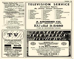 Oak Park Telephone Directory, May 01, 1956, Page 393
