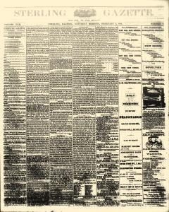 Sterling Gazette, February 05, 1876, Page 1