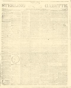 Sterling Republican Gazette, February 01, 1862, Page 1