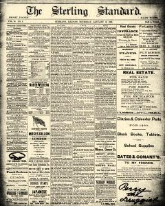 Sterling Standard, January 16, 1890, Page 1