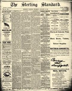 Sterling Standard, January 30, 1890, Page 1