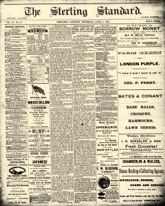 Sterling Standard, June 05, 1890, Page 1