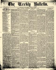 Weekly Bulletin, February 04, 1875, Page 1