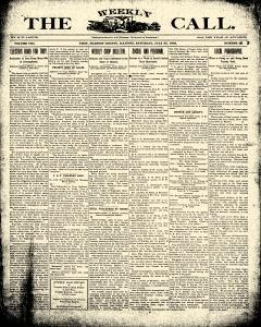 Weekly Call, July 25, 1903, Page 1