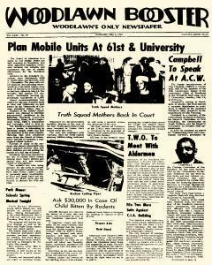 Woodlawn Booster, May 09, 1962, Page 1