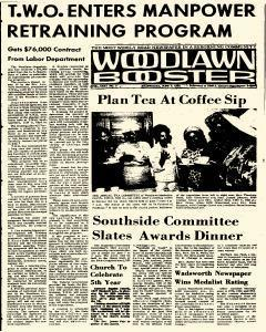 Woodlawn Booster, June 03, 1964, Page 1