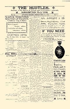 Advance Hustler, September 14, 1900, Page 1
