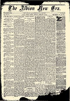 Albion New Era, February 14, 1884, Page 1