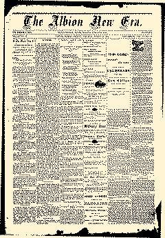 Albion New Era, March 13, 1884, Page 1