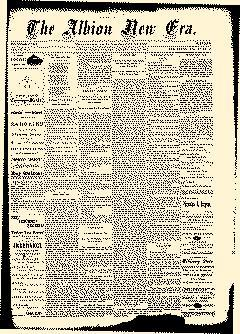 Albion New Era, May 22, 1884, Page 1