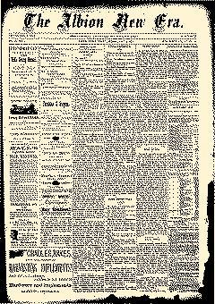 Albion New Era, July 03, 1884, Page 1